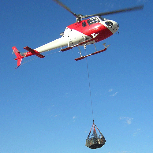helicopter dyneema long line
